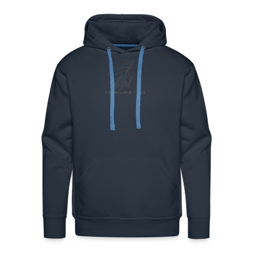Signature Line - Trip like i do (dark gray) - Männer Premium Hoodie