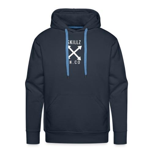 N°001[SKILLZ INCO] - Sweat-shirt à capuche Premium pour hommes