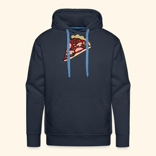 Pizza - Sweat-shirt à capuche Premium pour hommes