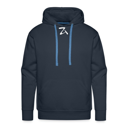 ZArt-white - Men's Premium Hoodie