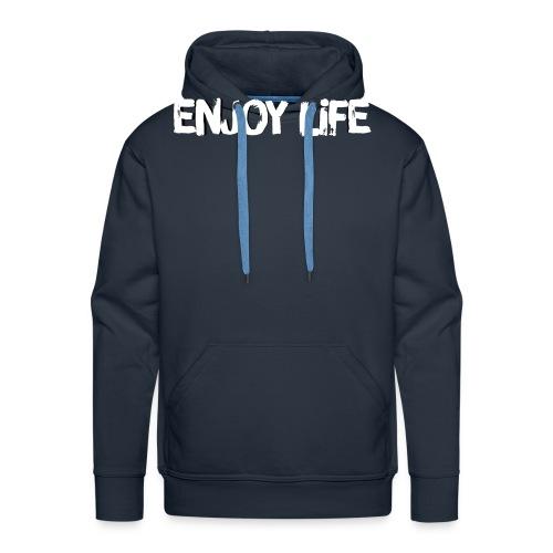 Enjoy Life Logo - Men's Premium Hoodie