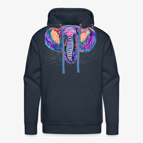 Elefante - Sudadera con capucha premium para hombre