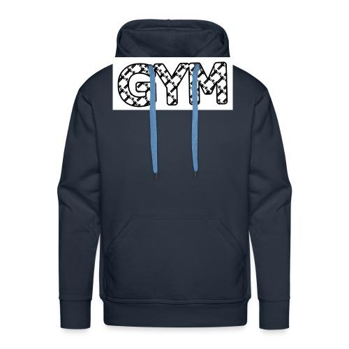 gym - Männer Premium Hoodie