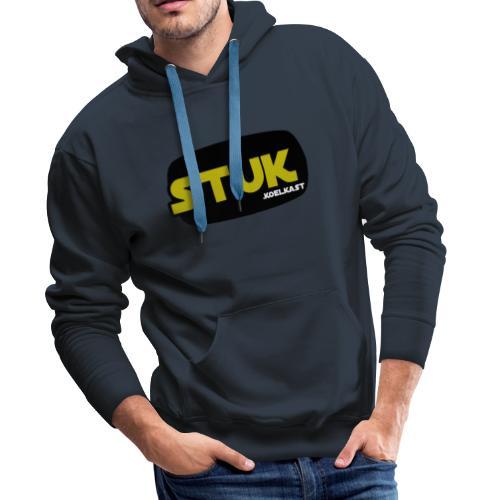 stuk koelkast - Mannen Premium hoodie