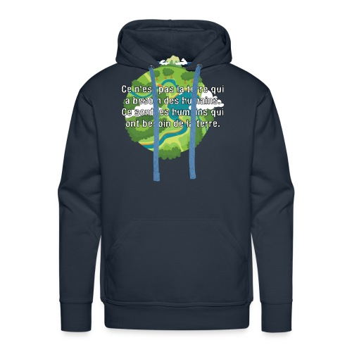 our earth - Men's Premium Hoodie