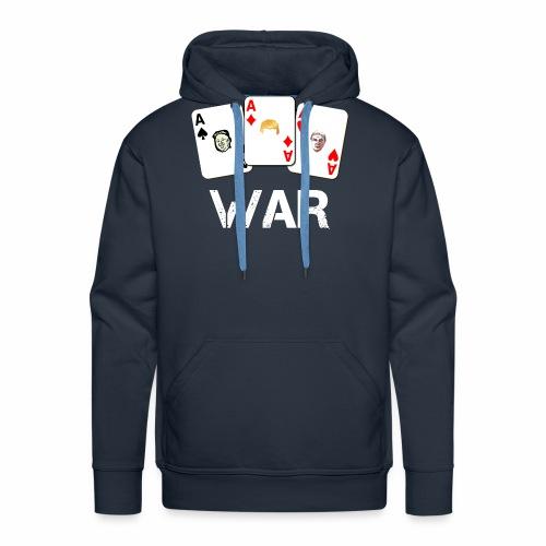 WAR / Guerra - Felpa con cappuccio premium da uomo
