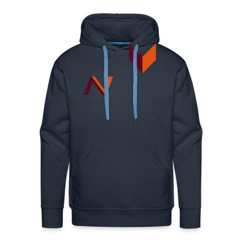 LOGO_FINAL - Sudadera con capucha premium para hombre