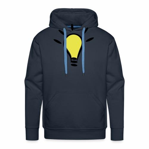Glühbirnen Kollektion - Männer Premium Hoodie
