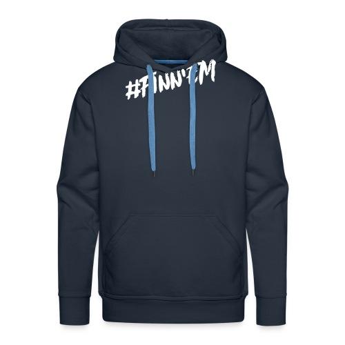 Finn'EM logo - Miesten premium-huppari