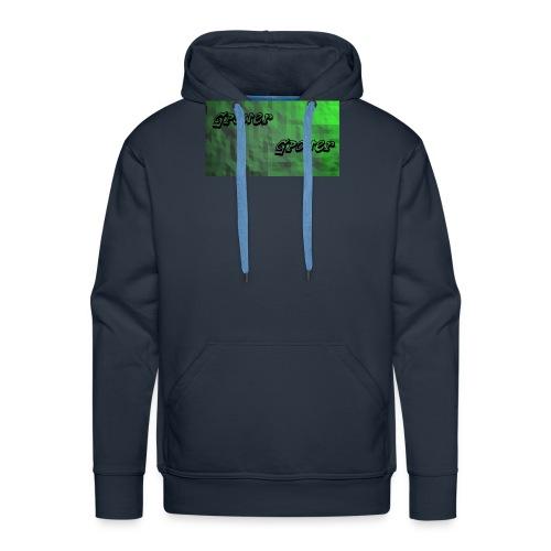 t-shirt met gpower - Mannen Premium hoodie