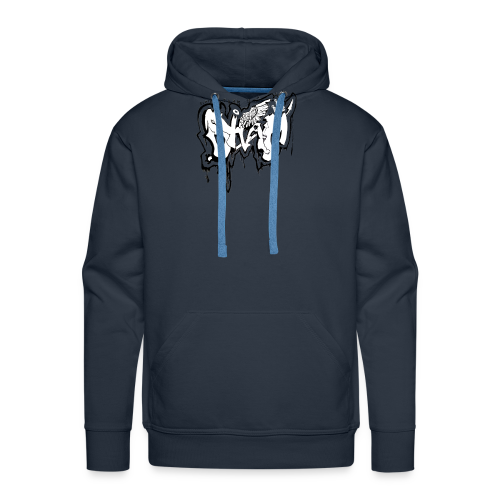 SHAM Official Graffiti T-Shirt Black - Men's Premium Hoodie