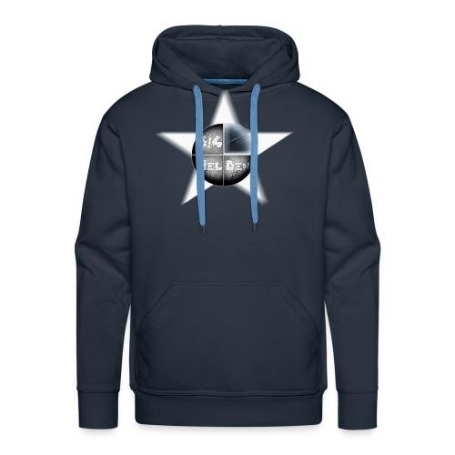 Logo im Stern - Männer Premium Hoodie