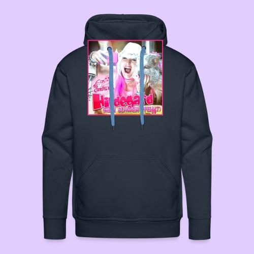 HILDEGARD mein Schwein pfeifft T Shirt - Männer Premium Hoodie