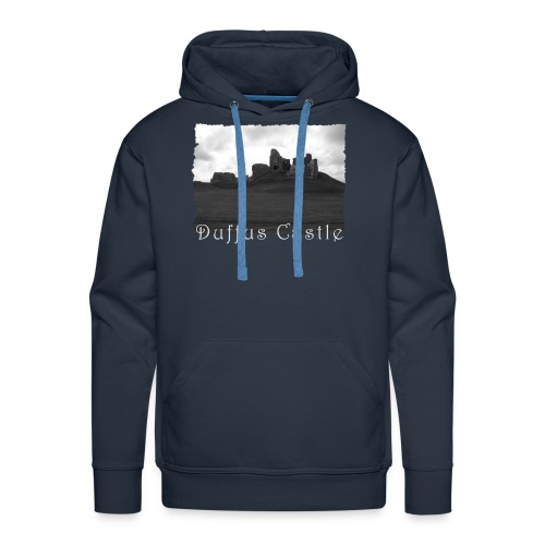 Duffus Castle #1 - Männer Premium Hoodie