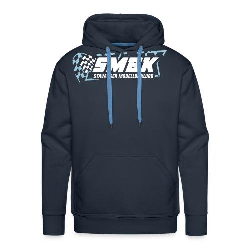 SMBK T shirt logo - Premium hettegenser for menn