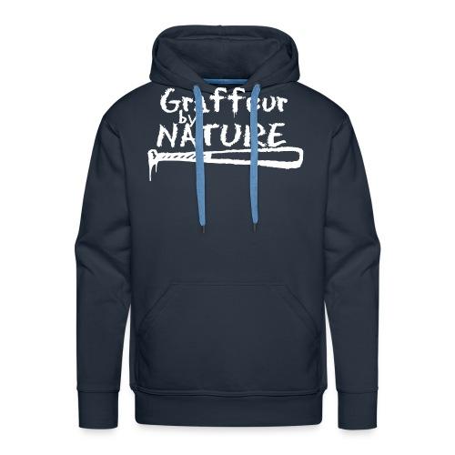 graffeur by nature - Sweat-shirt à capuche Premium pour hommes