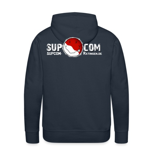 supcom logo1 - Männer Premium Hoodie