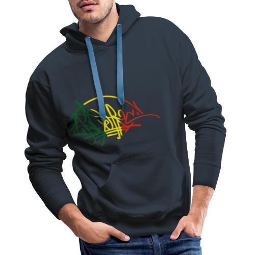 ikon vjr tag - Sweat-shirt à capuche Premium pour hommes