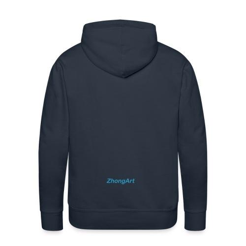 ZhongArt - Sweat-shirt à capuche Premium pour hommes