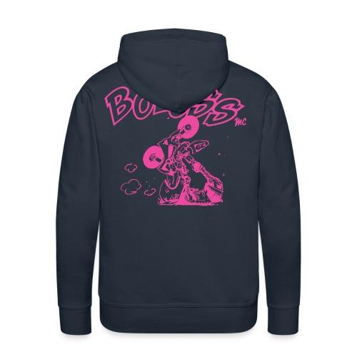 Logo Rose - Sweat-shirt à capuche Premium pour hommes