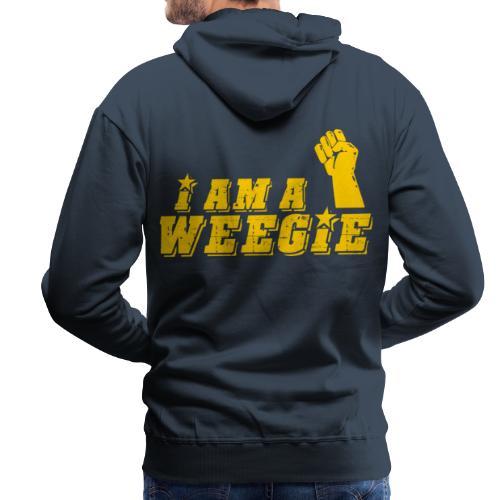 I Am A Weegie - Men's Premium Hoodie