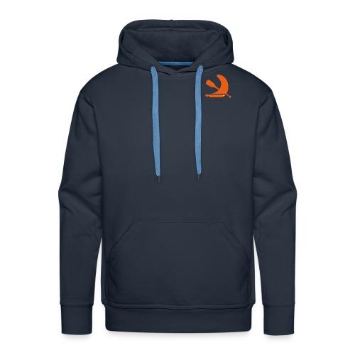 Paddles & Fins Logo oS - Männer Premium Hoodie