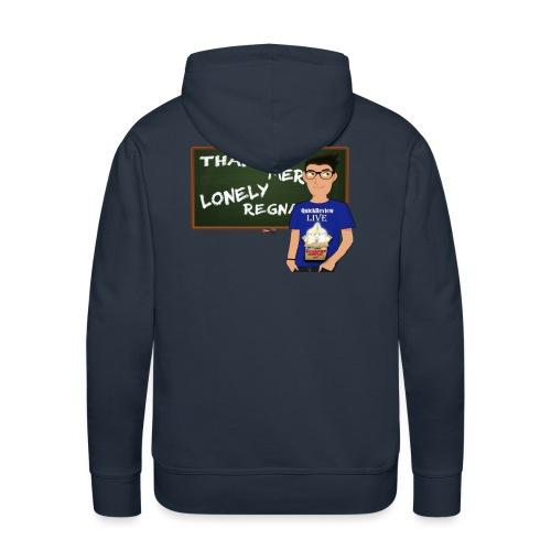 Lonely Vs Thanos, gli LDL in fiamme! - Felpa con cappuccio premium da uomo