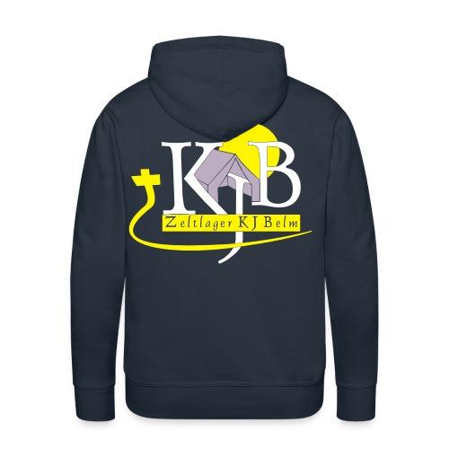 kjb logo zeltlager white - Männer Premium Hoodie