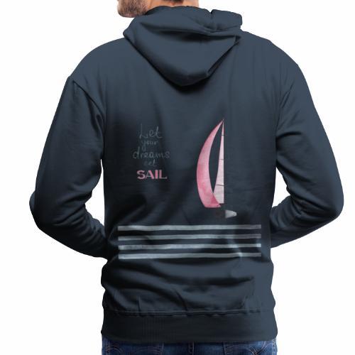 DREAMS'SAIL - Sweat-shirt à capuche Premium pour hommes