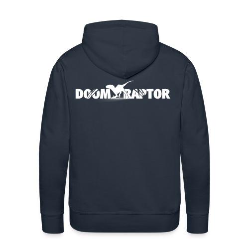 doomraptorTshirt png - Männer Premium Hoodie