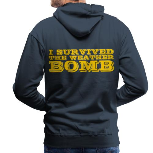 Weather Bomb - Men's Premium Hoodie