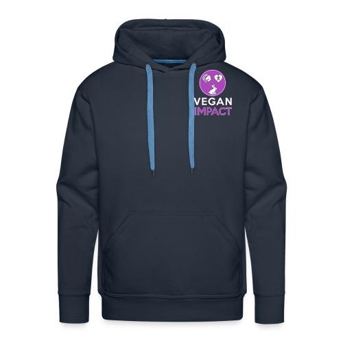 Logo carré court pour goo - Sweat-shirt à capuche Premium pour hommes