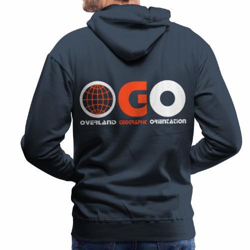 OGO-18 - Sweat-shirt à capuche Premium pour hommes