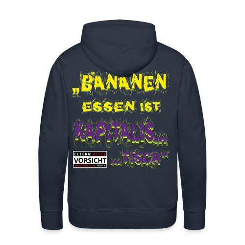 pilz_bananen_kapitalist_standard_edition - Männer Premium Hoodie