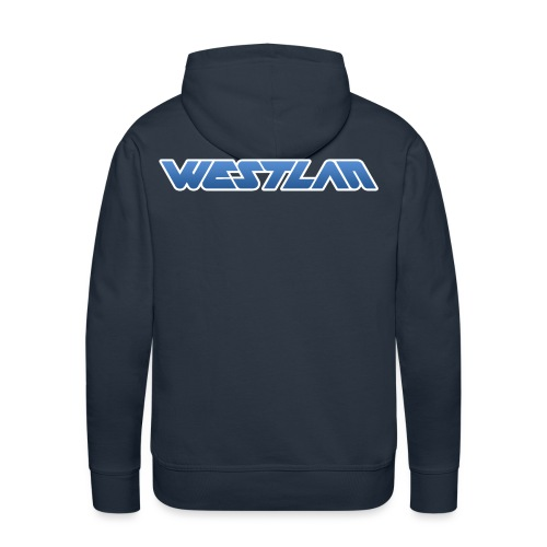WestLAN Logo - Men's Premium Hoodie