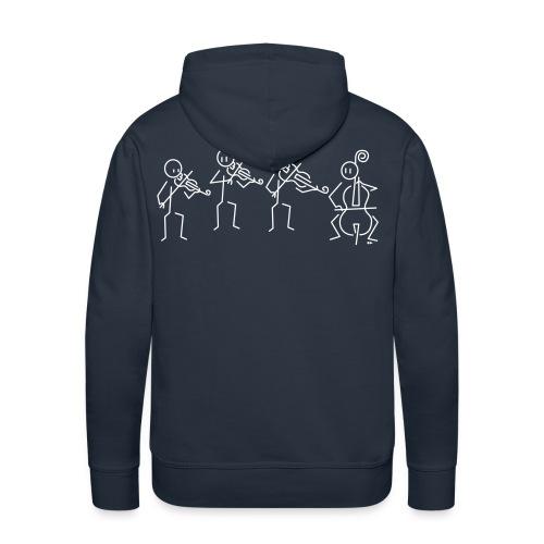 String quartet - Men's Premium Hoodie