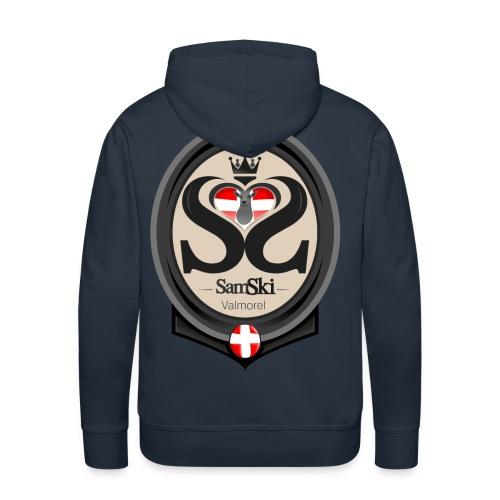 SAMSKI 1 - Sweat-shirt à capuche Premium pour hommes