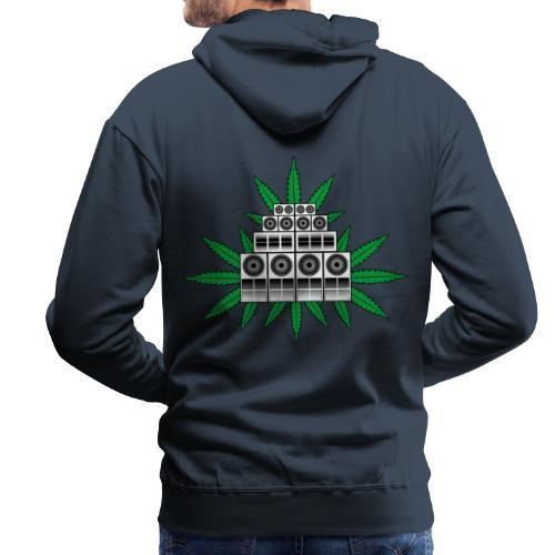 Ganja Sound System - Men's Premium Hoodie