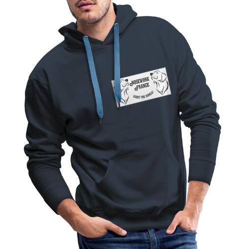 Nosework france - Sweat-shirt à capuche Premium pour hommes