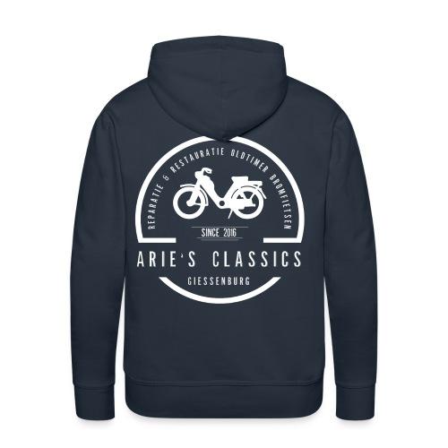 arie s classics logo - Mannen Premium hoodie