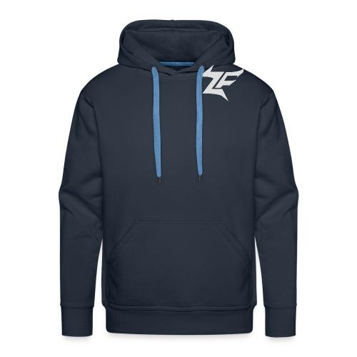 logo zfn vector png - Sweat-shirt à capuche Premium pour hommes