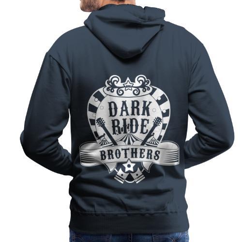Dark Ride Brothers - Miesten premium-huppari