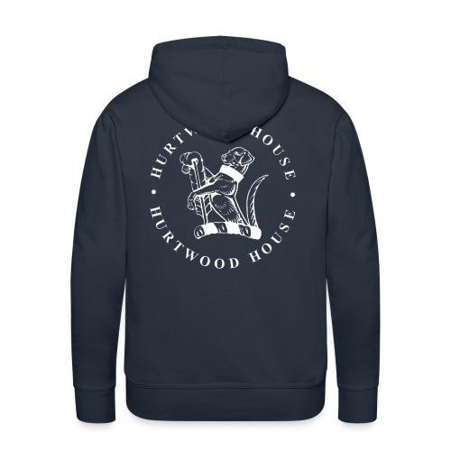 dogwhite - Men's Premium Hoodie