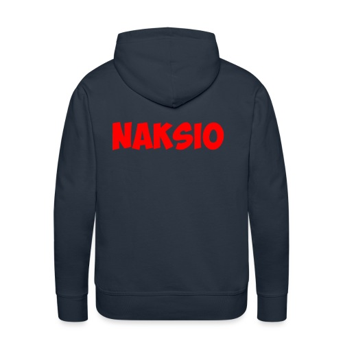 T-shirt NAKSIO - Sweat-shirt à capuche Premium pour hommes