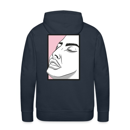 Goodbye Faces - Men's Premium Hoodie