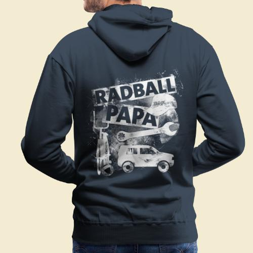 Radball | Papa - Männer Premium Hoodie
