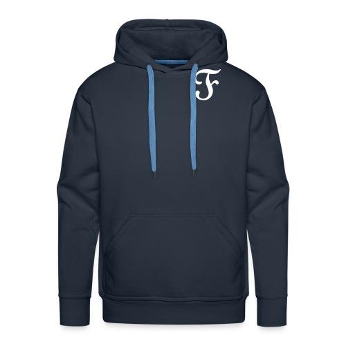 F - Sweat-shirt à capuche Premium pour hommes