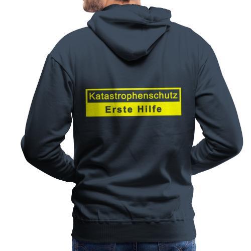 Katastrophenschutz & Erste Hilfe - Männer Premium Hoodie