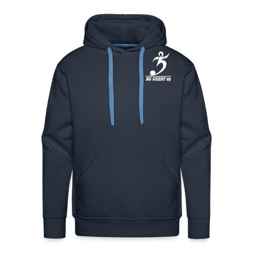 sg geest 05 logo navy - Männer Premium Hoodie