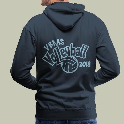 VBMS VB 2018 - Sweat-shirt à capuche Premium pour hommes